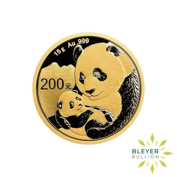 Bleyers Coin 15g Gold Chinese Panda Coin 1
