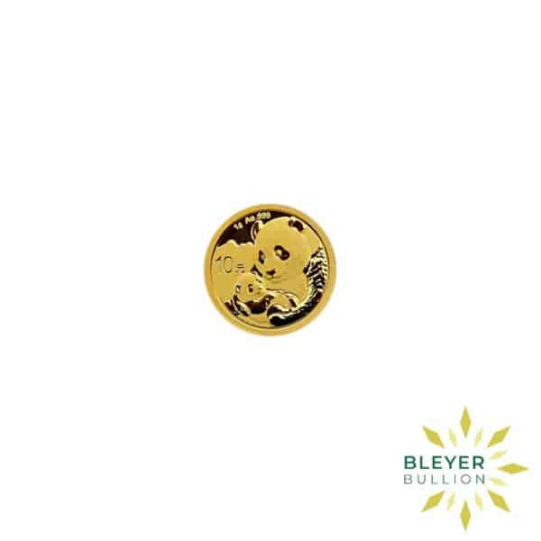Bleyers Coin 1g Gold Chinese Panda Coin 1