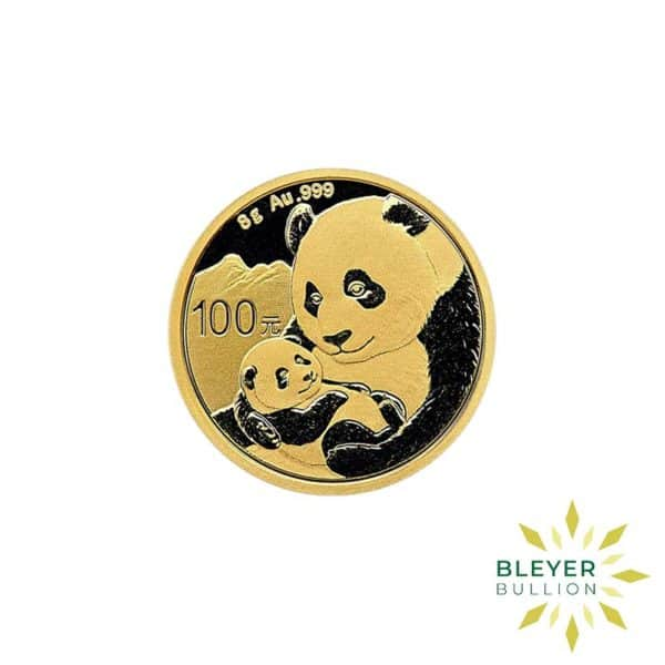 Bleyers Coin 8g Gold Chinese Panda Coin 1