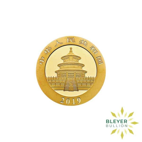 Bleyers Coin 8g Gold Chinese Panda Coin 2