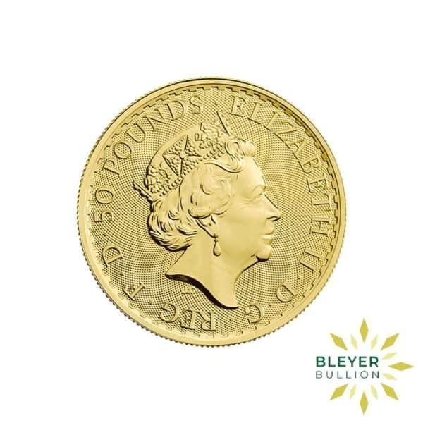 Bleyers Coin Best Value 12oz Gold UK Britannia Coin Back