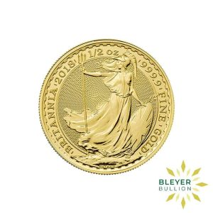 Bleyers Coin Best Value 12oz Gold UK Britannia Coin Front