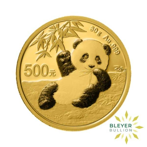 Bleyers Coin Best Value 30g Gold Chinese Panda Coin 1