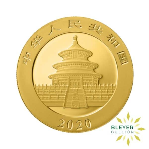 Bleyers Coin Best Value 30g Gold Chinese Panda Coin 2