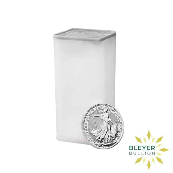 Bleyers Coin Cutouts Silver UK Britannia Monster Box Tube