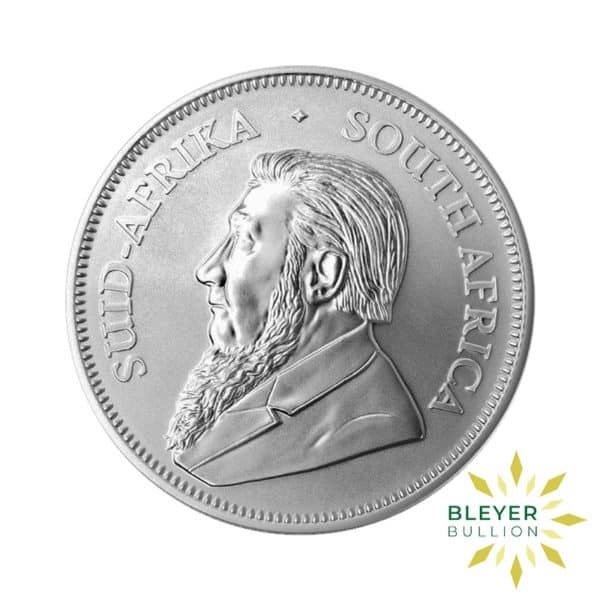 Bleyers Coin 1oz 2018 Silver Krugerrand BACK