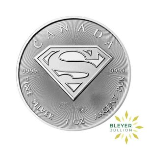 Bleyers Coin 1oz Silver Canadian Superman Coin 2016 1
