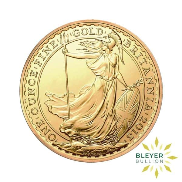 Bleyers Coin 1oz Gold UK Britannia Coin 2013 1