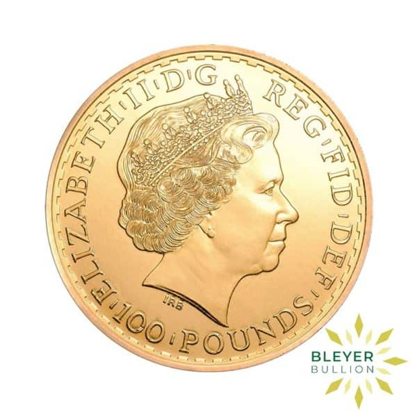 Bleyers Coin 1oz Gold UK Britannia Coin 2013 2
