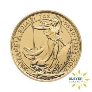 Bleyers Coin 1oz Gold UK Britannia Coin 2014 1