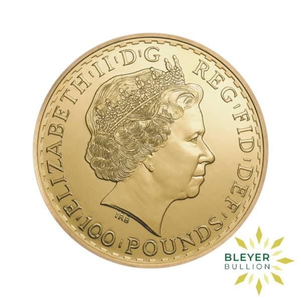 Bleyers Coin 1oz Gold UK Britannia Coin 2014 2