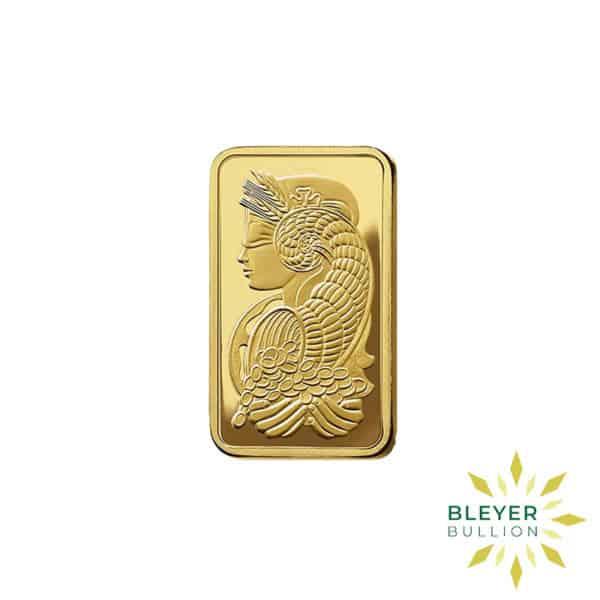 Bleyers Bars 50g Pamp Minted Gold Bar 1