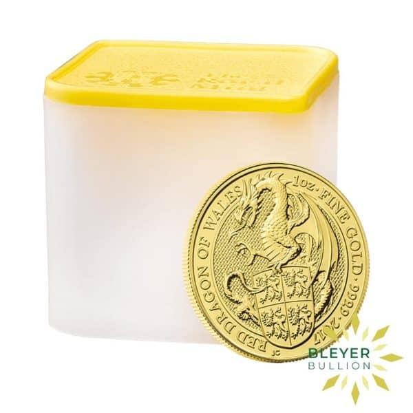 Bleyers Coins 1oz Gold UK Queens Beasts Dragon 2017 3