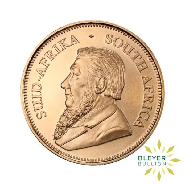 Bleyers Coins 1oz Gold South African Krugerrand Coin 50th Anniversary 2