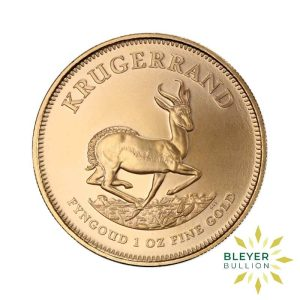Bleyers Coins Best Value 1oz Gold South African Krugerrand Coin 1