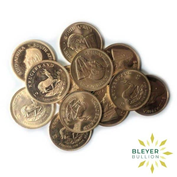 Bleyers Coins Best Value 1oz Gold South African Krugerrand Coin 4