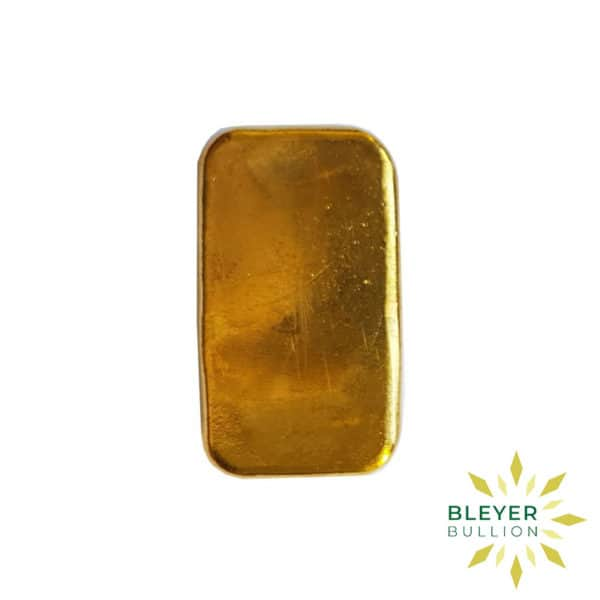 Bleyers Bars 100g Metalor Cast Gold Bar 3