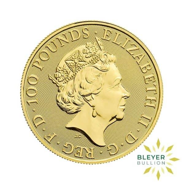 Bleyers Coin 1oz Gold UK Lunar Sheep Coin 2015 2
