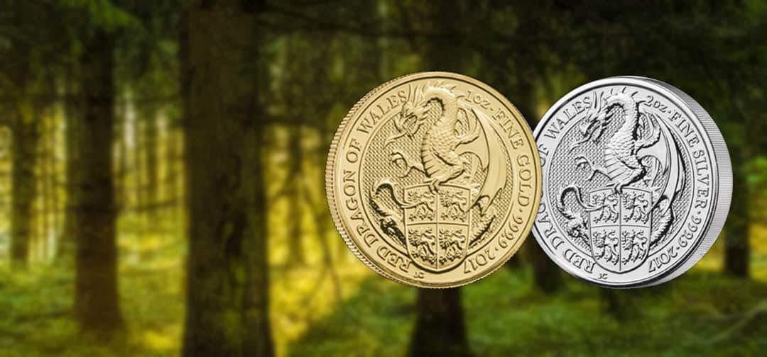 NEW COIN – The Royal Mint's Queen's Beast Dragon