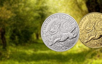 NEW COINS – The Royal Mint's Lunar 'Year Of The Dog' Coins
