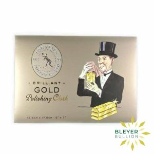 Bleyers Coin Gold Cleaning Cloth 1
