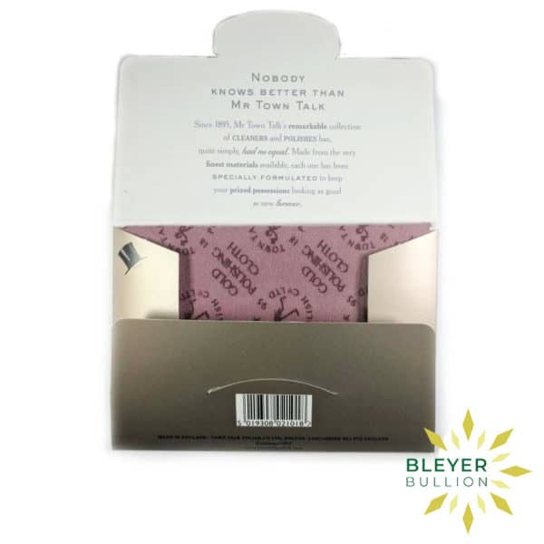 Bleyers Coin Gold Cleaning Cloth 3