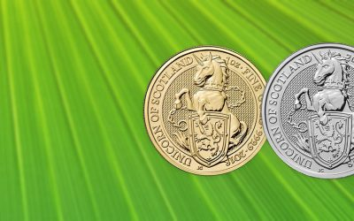 NEW COIN – The Royal Mint's Queen's Beast Unicorn