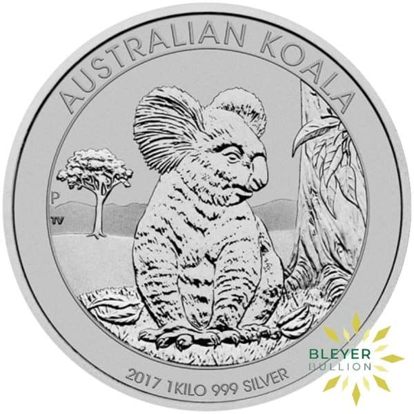 Bleyers Coins 1kg Silver Australian Koala Coin 2017 1