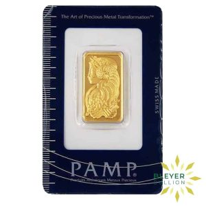 Bleyers Bars 20g Pamp Minted Gold Bar 1