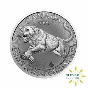 Bleyers Coin 1oz Silver Canadian Cougar Coin 2016 1