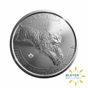 Bleyers Coin 1oz Silver Canadian Lynx Coin 2017 1