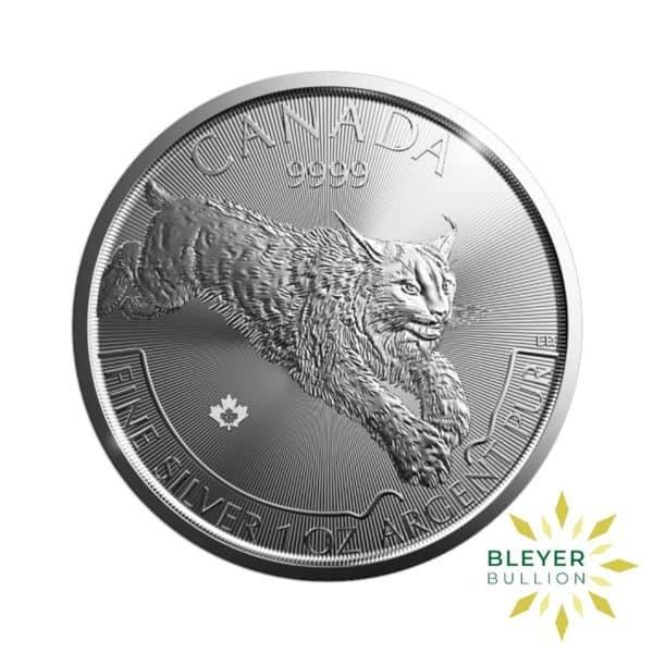 Bleyers Coin 1oz Silver Canadian Lynx Coin 2017 1