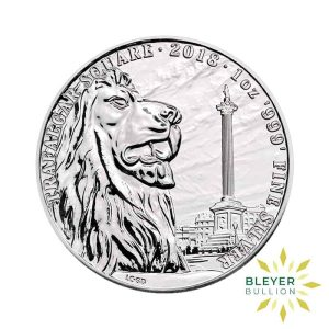 Bleyers Coin 1oz Silver UK Landmarks of Britain – Trafalgar Square 2018 1