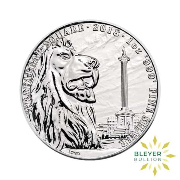 Bleyers Coin 1oz Silver UK Landmarks of Britain – Trafalgar Square 2018 1