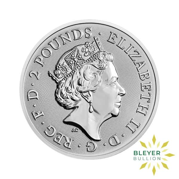 Bleyers Coin 1oz Silver UK Landmarks of Britain – Trafalgar Square 2018 2