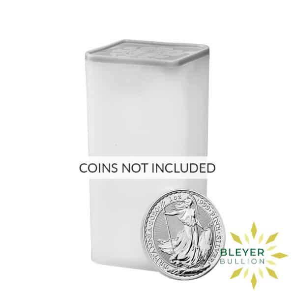 Bleyers Coin Britannia Tube Empty 1