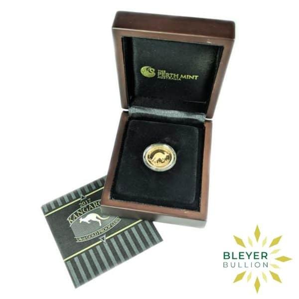 Bleyers Coins 1 4oz Gold Proof Australian Kangaroo Coin 2017 1