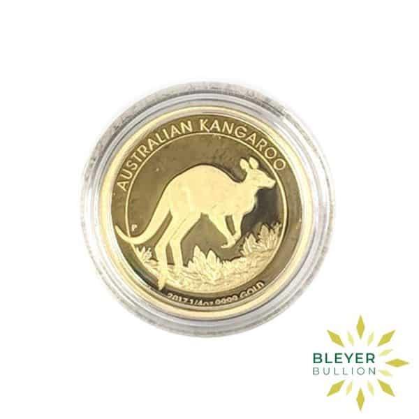 Bleyers Coins 1 4oz Gold Proof Australian Kangaroo Coin 2017 3