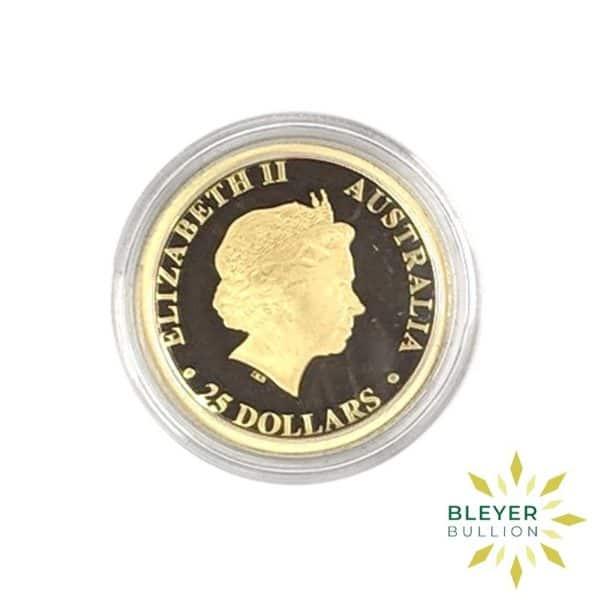 Bleyers Coins 1 4oz Gold Proof Australian Kangaroo Coin 2017 4