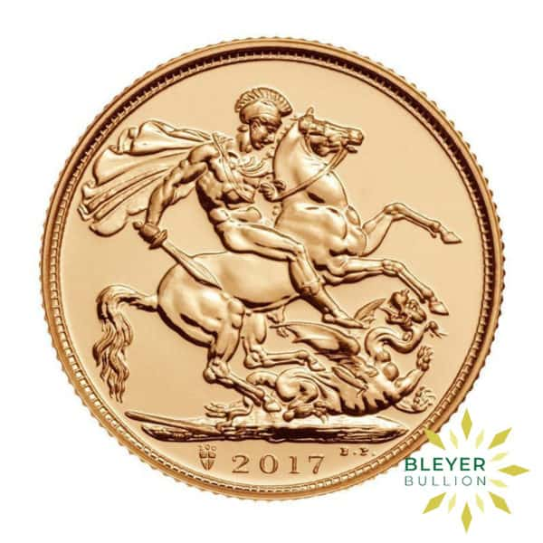 Bleyers Coin UK Gold Sovereign 2017 200th Anniversary Stamp Cover Coin