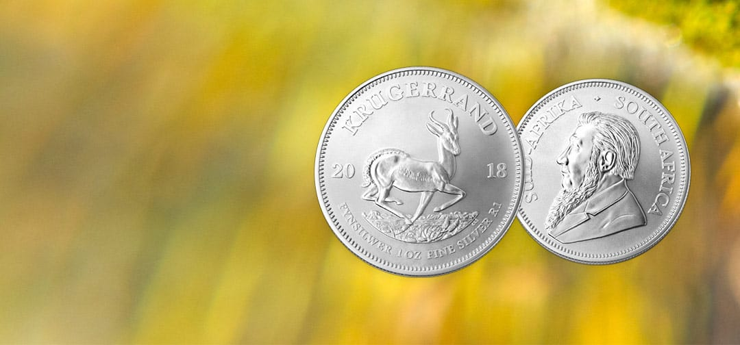 NEW COIN – The South African Mint's 2018 Silver Krugerrand Coin