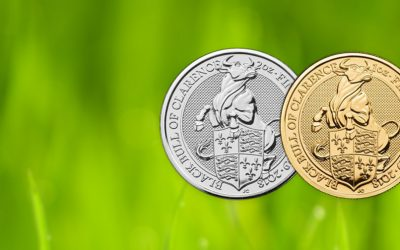 NEW COIN – The Royal Mint's Queen's Beast Black Bull Coins