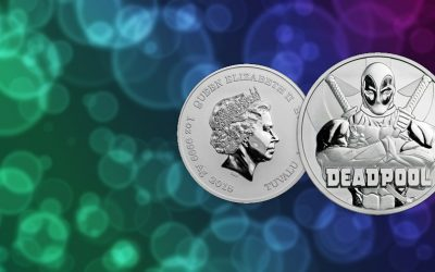 NEW COIN – Tuvalu's 2018 'Deadpool' Marvel Series Coin