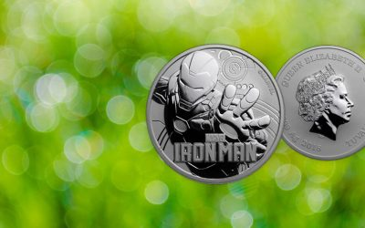 NEW COIN – Tuvalu's 2018 'Iron Man' Marvel Series Coin