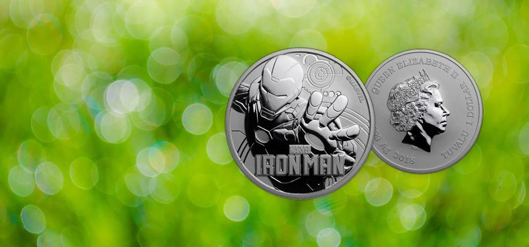Header New 2018 Coin Iron Man