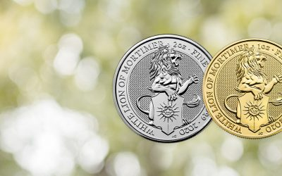 NEW COIN – The Royal Mint's Queen's Beast 2020 'White Lion' Coins