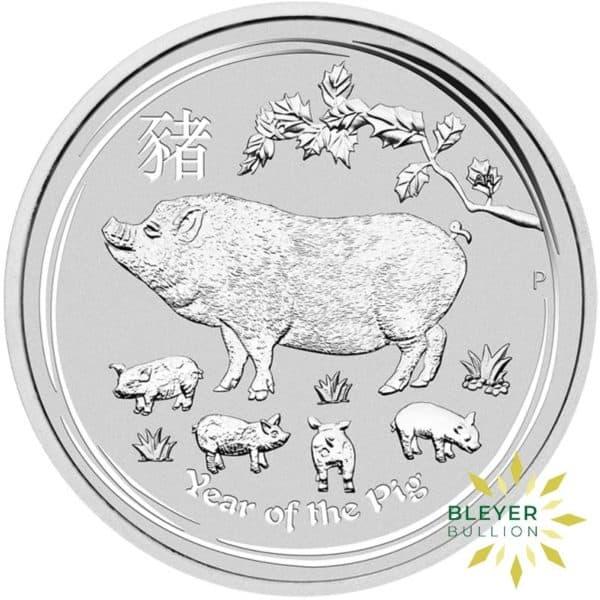 Bleyers Coin 1kg Silver Australian Lunar Pig Coin 2019 1