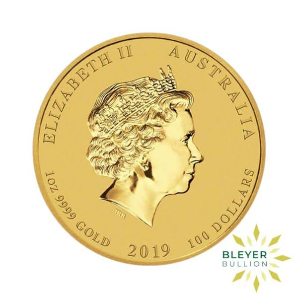Bleyers Coin 1oz Gold Australian Lunar Pig Coin 2019 2