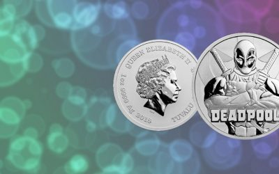 NEW Tuvalu's 2018 Deadpool Marvel Series Coin