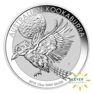 Bleyers Coin 10oz Silver Australian Kookaburra Coin 2018 1